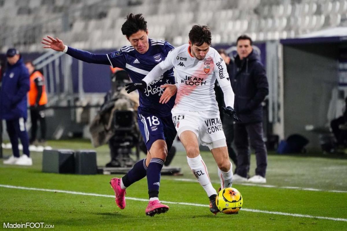 Les Girondins de Bordeaux ont été étrillés par le FC Lorient (4-1), ce dimanche après-midi en Ligue 1.