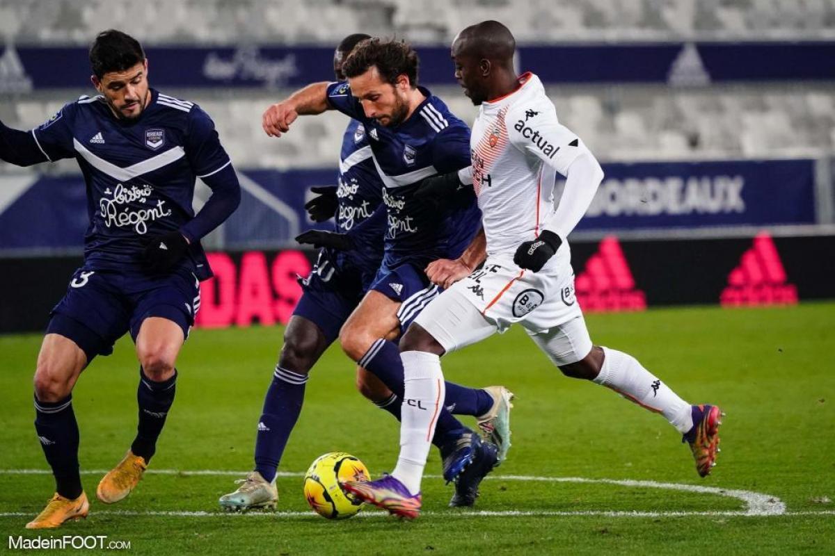 Les compos officielles du match entre le FC Lorient et les Girondins de Bordeaux.