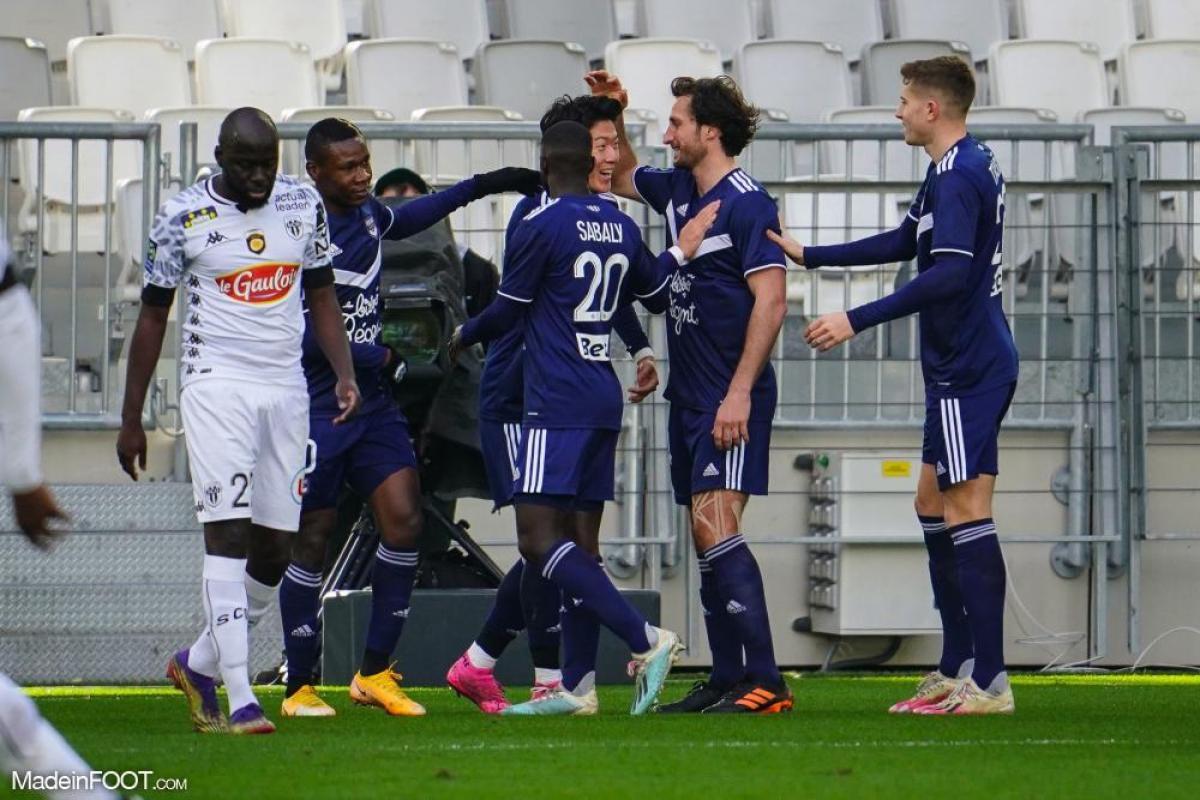 Les Girondins de Bordeaux ont dominé le SCO Angers (2-1), ce dimanche après-midi en Ligue 1.