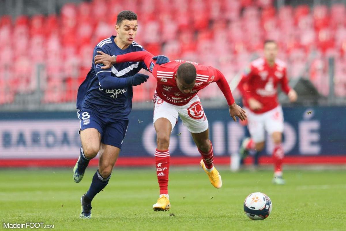 Les Girondins de Bordeaux se sont inclinés face au Stade Brestois 29 (2-1), ce dimanche après-midi en Ligue 1.