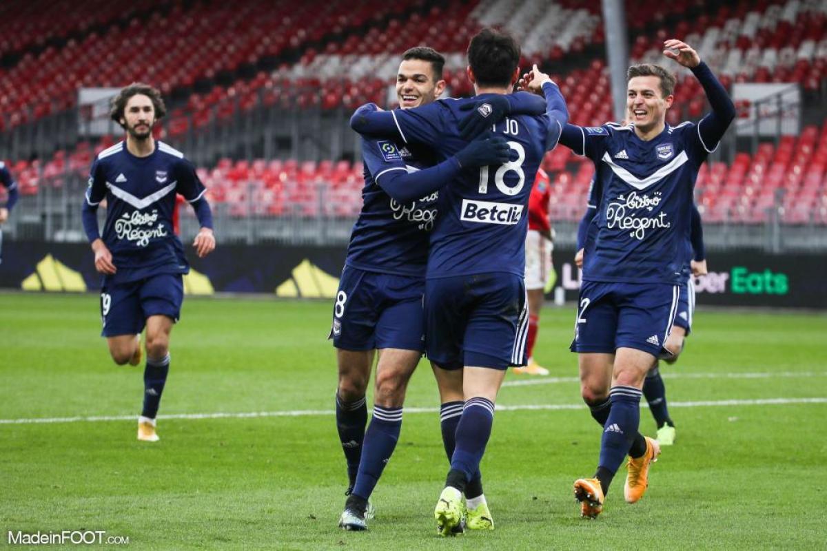 Célébration des joueurs de Bordeaux