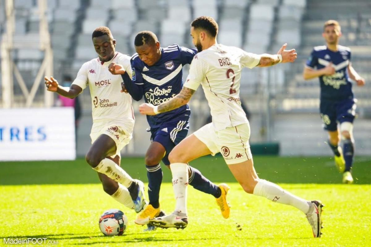 Le but de Kalu n'a pas suffi aux Girondins