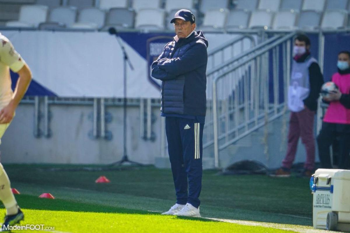 Jean-Louis Gasset, l'entraîneur des Girondins de Bordeaux.