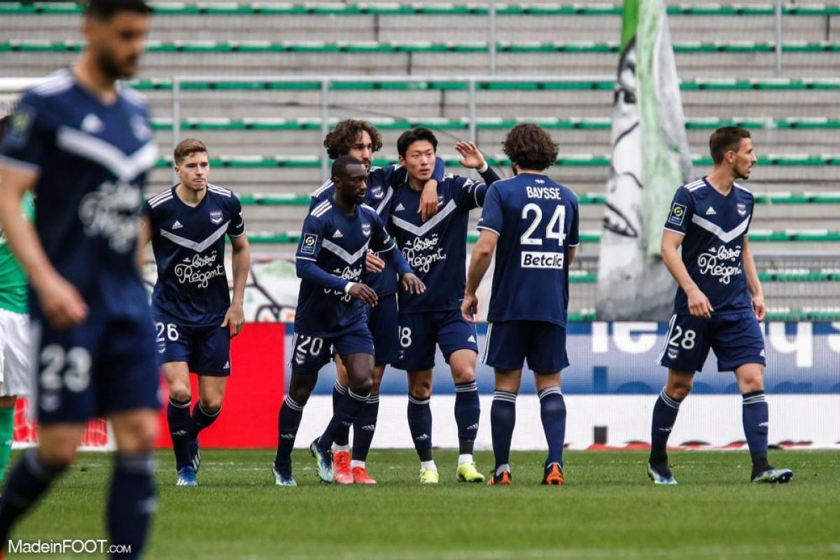Bordeaux célèbre un but