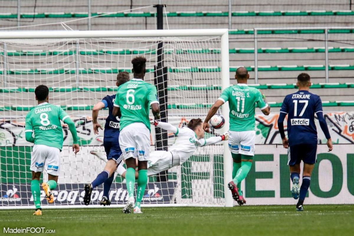 Les Girondins de Bordeaux ont chuté sur la pelouse de l'AS Saint-Etienne (4-1), ce dimanche après-midi en Ligue 1.