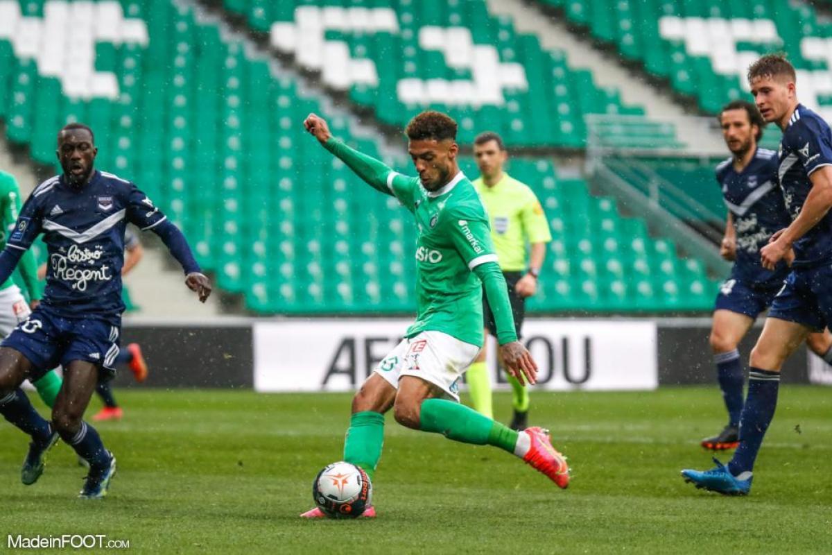 L'album photo du match entre l'AS Saint-Etienne et les Girondins de Bordeaux.