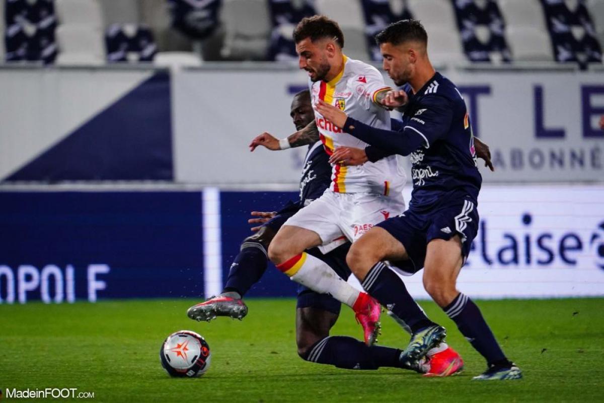 Les compos officielles du match entre les Girondins de Bordeaux et le RC Lens.