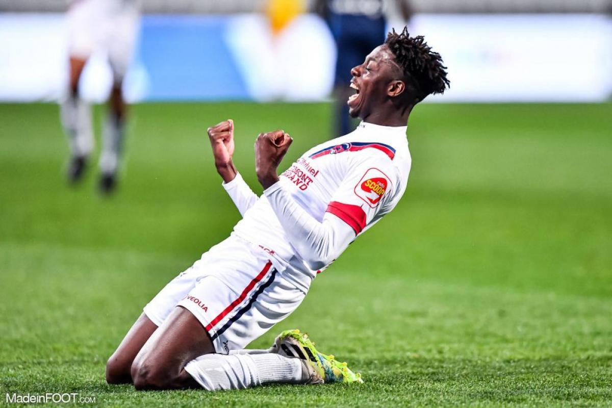 Mohamed Bayo sous les couleurs de Clermont