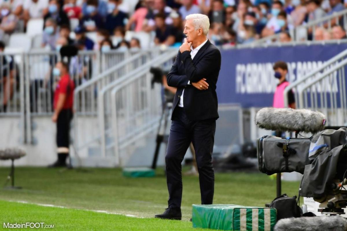 Vladimir Petkovic, l'entraîneur des Girondins de Bordeaux.