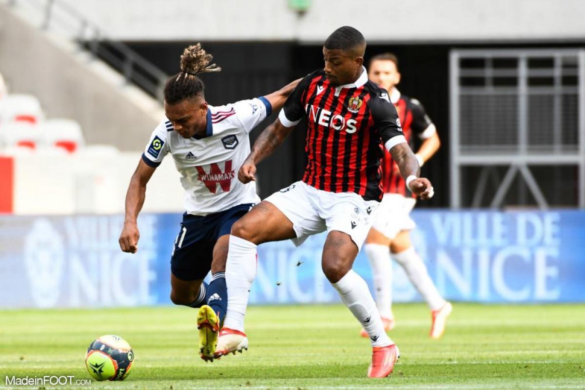 Sékou Mara, l'attaquant des Girondins de Bordeaux.