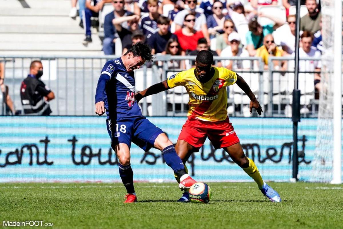 Les Girondins de Bordeaux ont été dominés par le RC Lens (2-3), ce dimanche après-midi en Ligue 1.