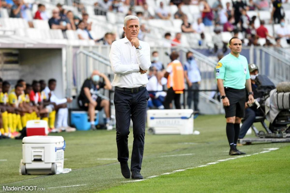 Vladimir Petkovic a aimé l'attitude de ses joueurs à Montpellier