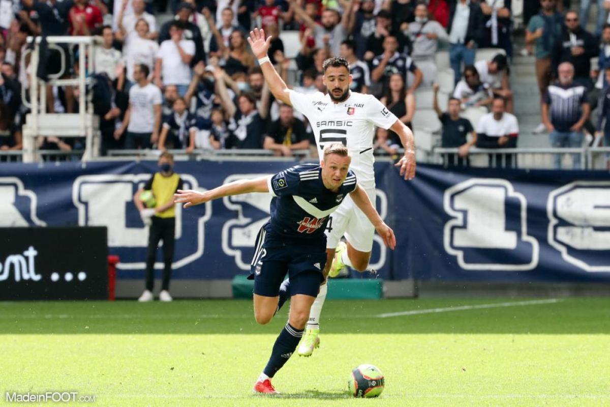 Les Girondins de Bordeaux et le Stade Rennais FC se sont quittés dos à dos (1-1), ce dimanche après-midi en Ligue 1.