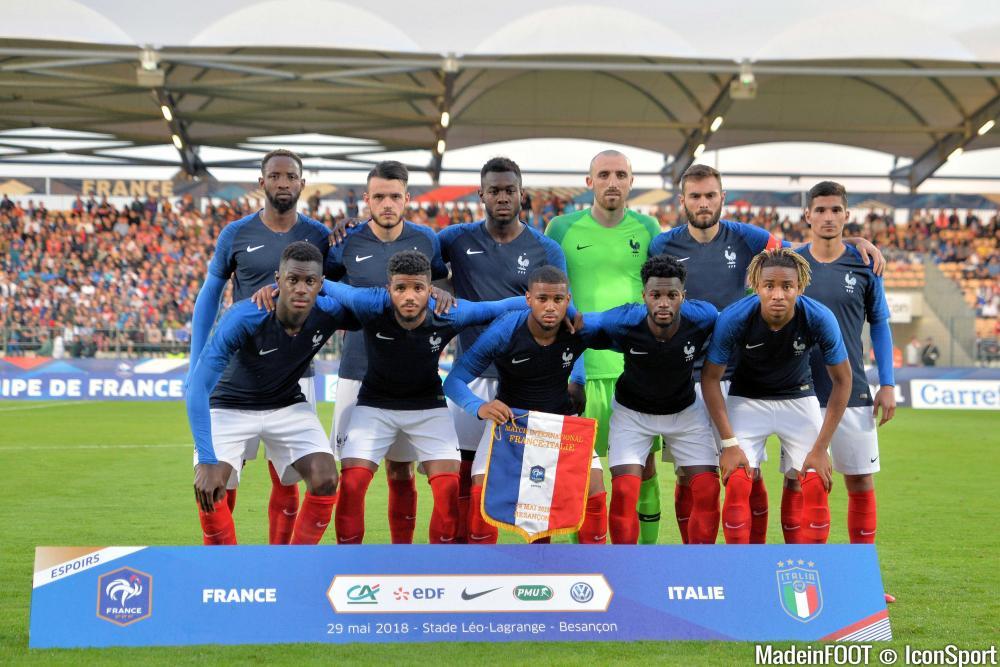 L'équipe de France U21 s'est imposée face à la Belgique (3-0), ce lundi soir en amical.