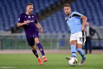 Sergej Milinkovic Savic (Lazio), Franck Ribéry (Fiorentina)